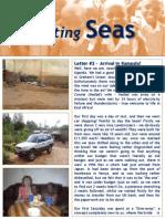Parting Seas Newsletter 2 - April 2013