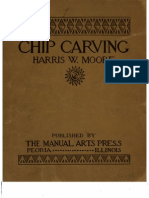 Chip Carving - Harris W. Moore 1922