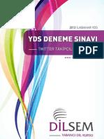 YDS Deneme Sınavı Twitter  14 Mart 2012.pdf
