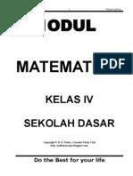 Rangkuman mata pelajaran Matematika Klas IV