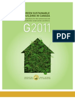 Green Sustainable Building in Canada