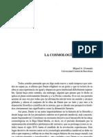 Miguel-granada La Cosmologia de Dante