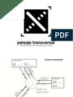 Paisaje Transversal en los coloquios «Zaragoza en verde»