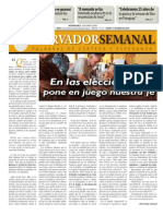 Observador semanal del 11/04/2013