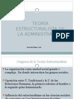 TEORIA ESTRUCTURALISTA Nº11 IVAN