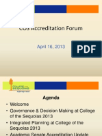 April 16 Accreditation Forum PowerPoint