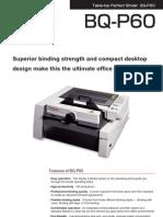 BQ P60 Brochure