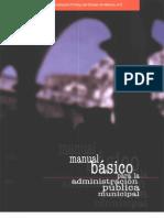 58 Manual Basico Para La Administracion Publica Municipal