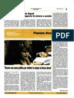 Intervista Angela Napoli Corriere Dei Due Mari - Marzo 2009