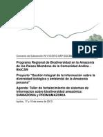 Agenda Taller_SIAMAZONIA_PROMAMAZONIA_090113.docx