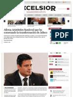01-03-2013 Afirma Aristóteles Sandoval que ha comenzado la transformación de Jalisco