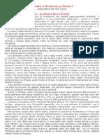 Appunti Di Storia Della Chiesa I - Prof. Vacca 2000-01