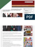 22-03-2013 El Gobernador Aristóteles Sandoval Díaz ratificó a Luis Carlos Nájera como Fiscal General del Estado de Jalisco
