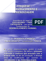 Catequese - Desenvolvimento e Aprendizagem -- Power Point