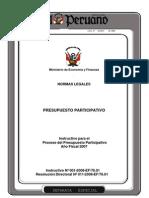 Instructivo Presupuesto Participativo