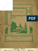 Walter J. Keith's Portfolio Of Practical Homes 1920