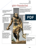 master neanderthal detailed input