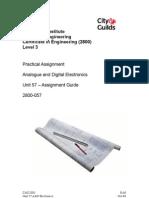 A&D Electronics Assignment