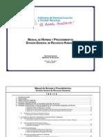 Procedimientos Division RR HH-b