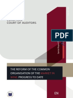 European Court of Auditors | The Reform of the Common Organisation of the Market in Wine