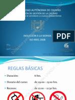 Curso - Induccion Al SGC-UNACH