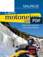 Carte motoneige 2009