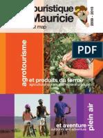 Carte touristique de la Mauricie 2009-2010