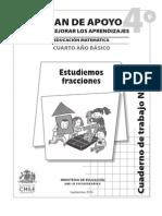 fracciones 4 primaria
