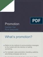Promotion -Business & Management