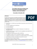 Sixth Round Guidelines Project Proposal French
