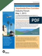 Sepulveda Pass Event Invitation