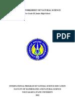 Student Worksheet of Natural Science