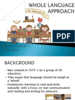 Whole Language Approach Presentation