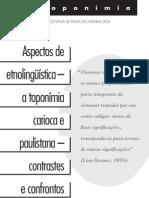 Toponimias SP RJ