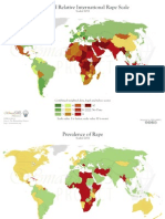 Mapping Rape and Female Life Expectancy Internationally