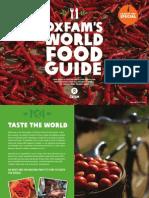 Oxfam World Food Good Guide Sampler