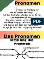 """Gesamtpräsentation zum Thema """"Pronomen"""""""