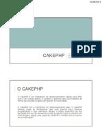 01 - Apresentação do CakePHP e Assistente de Instalação