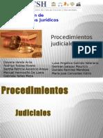 Procedimientos Judiciales