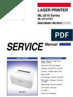 Samsung Ml 2010 Service Manual