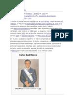 Carlos Menem Presidencia