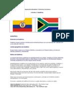 Comparacion Indicarores Y Estructura Economica