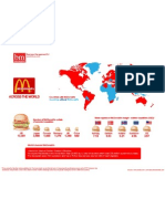 Map of McDonald's Restaurants Worldwide