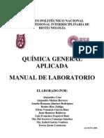 Manual de Prácticas de Química General Aplicada 2