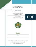 Asbab Al-Nuzul (Kontekstualisasi Al-Maidah 87) - PDF