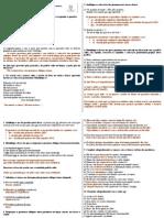 exercicios de revisão - 3° bimestre