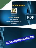 ISOTACHOPHORESIS- PPT