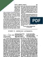 Ambrosius, Hymni Sancti Abrosio Attributi [Incertus], MLT