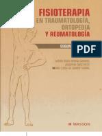 Fisioterapia en Traumatologia Ortopedia y Reumatologia