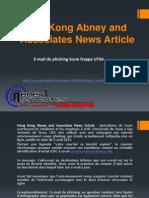 Hong Kong Abney and Associates News Article